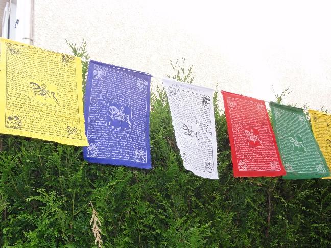 Célèbre Artisanat du Tibet - Drapeaux ZV06
